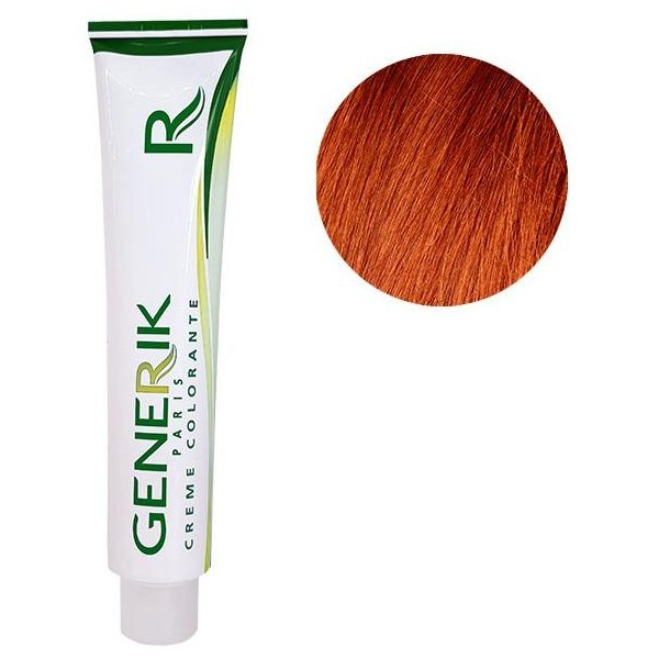 Générik coloration Sans amoniaque N°7.44 Blond Cuivré Intense 100 ML