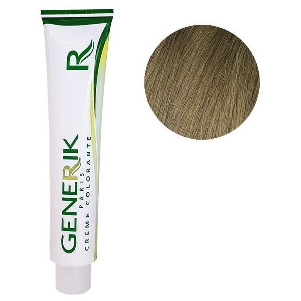 Generérik Coloration Sans amoniaque N ° 8 Light Blond 100 ML