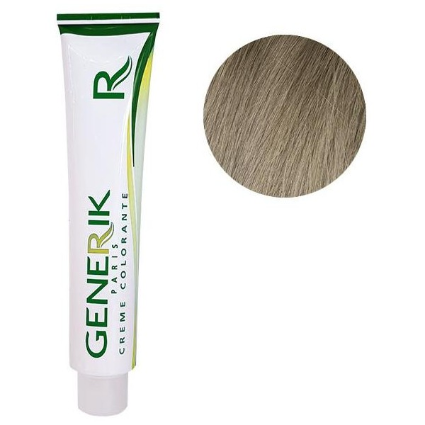 Générik Coloring without ammonia N ° 9.13 Very Light Blonde Gilded Ash 100 ML