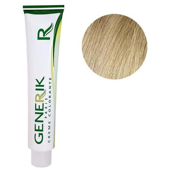 coloración sin amoniaco Générik Nº 10 rubio muy claro aligeramiento 100 ML