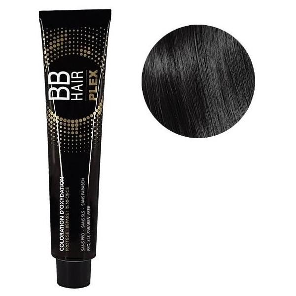 Générik Coloration d'oxydation BBHair Plex 1 Noir 100 ML