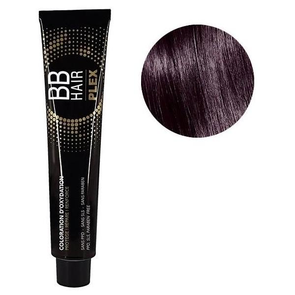 Générik Coloration d'oxydation BBHair Plex 4.22 châtain irisé intense 100 ML