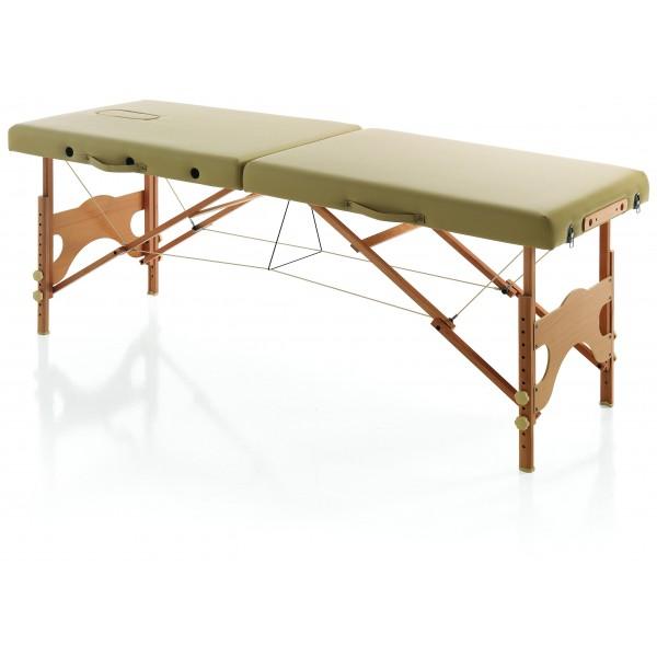 Tragbares Schönheitsbett aus Karma-Holz