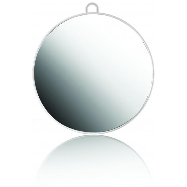 Miroir rond blanc