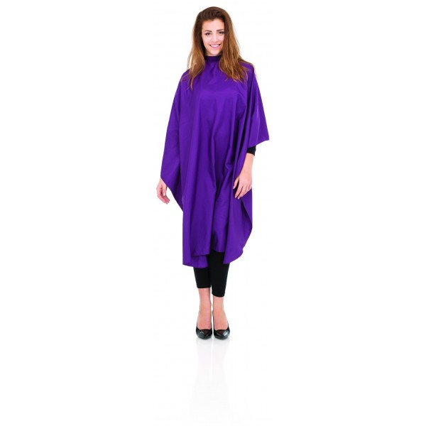 Comfort cut purple cape