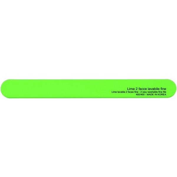 Lima a doppia faccia verde lavabile - grani medi 180/180