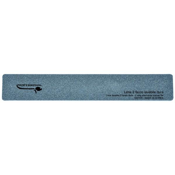 Lima rectangular negra - granos duros 100/100