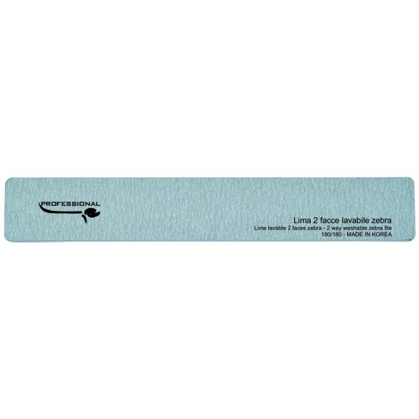 Rectangular zebra file - medium grains 180/180