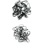 Small black rubber band x40