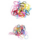 Small color rubber band x40