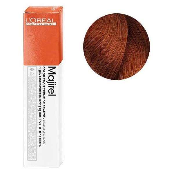 Coloration Majirel n°6.46 blond foncé cuivré rouge 50ML