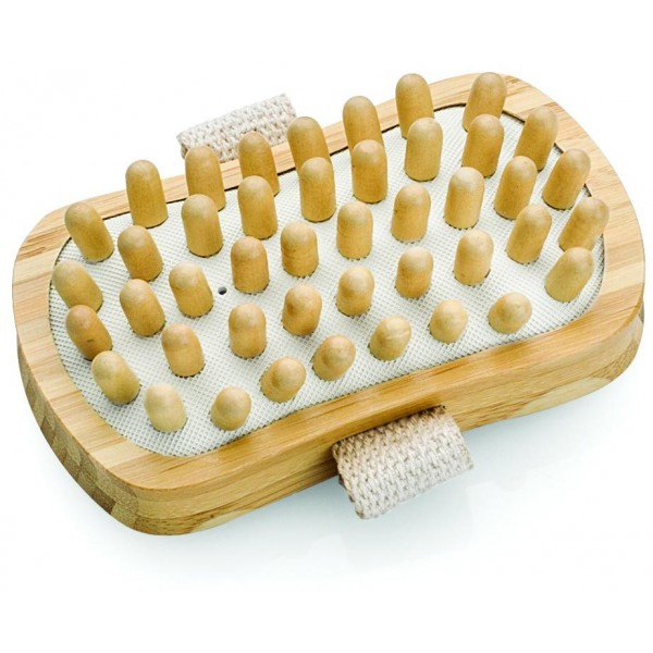 Massagebadbürste aus Holz