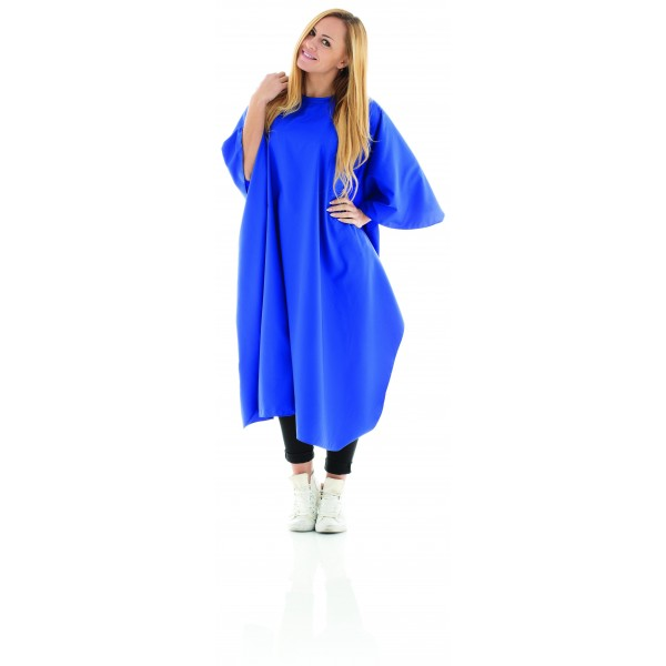Mantella taglio comfort blu