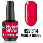 Mini vernis semi-permanent Hybrid Shine n°312 Purist Shock MOLLON PRO 8ML