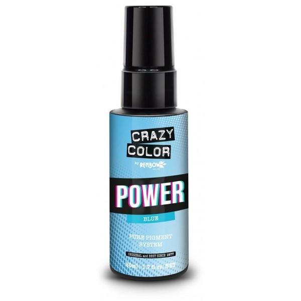 Blaue Pigmente CRAZY COLOR HYPE 50ML
