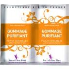 SECERTS DES FEES exfoliante purificador orgánico para pieles sensibles 2x8g