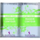 SECRETS DES FEES Mascarilla exfoliante orgánica para contorno de ojos y labios 2x16g