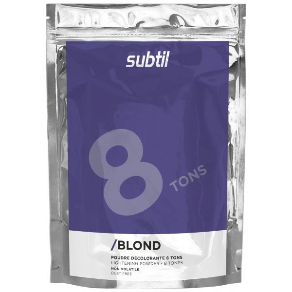 Subtil Blond Poudre Décolorante 8 tons 100 Grs