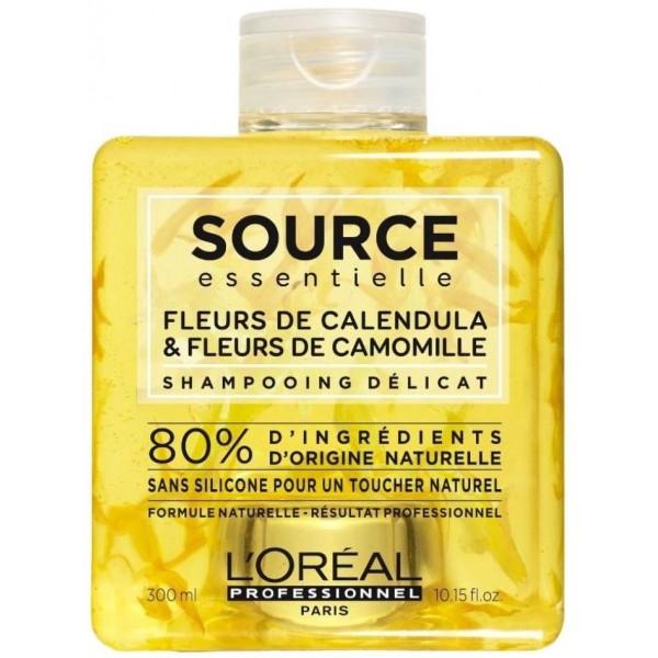 Shampooing Fleurs de Calendula et Camomille Source Essentielle 300ML