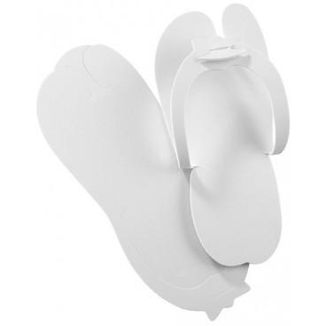 Pantoufles jetables blanches 160111