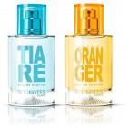 Mix Prodigieux : eau de parfum Tiaré 50ml et eau de parfum Fleur d'Oranger 50ml
