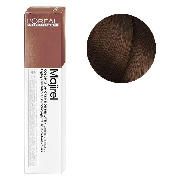 Coloration Majirel n°6.35 blond doré acajou 50ML