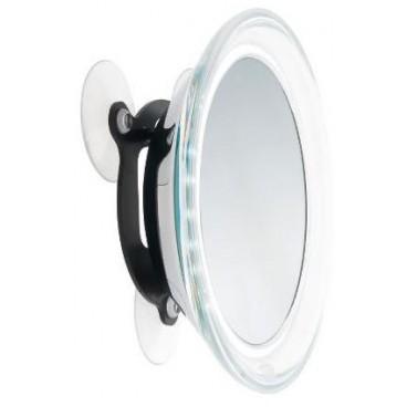 Miroir helsinki Round à Ventouse 19 Cm