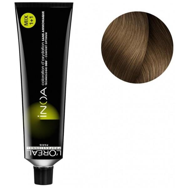 Coloration Inoa n°8.13 blond clair cendré doré 60ML