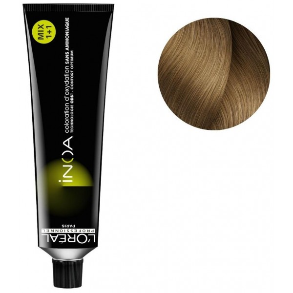 Coloration Inoa n°8.31 blond clair doré cendré 60ML