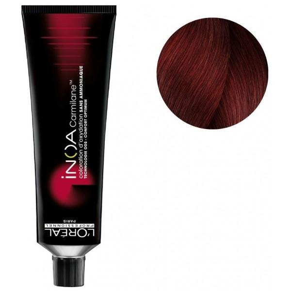 Color Inoa Carmilane n ° 5.6 light brown red 60ML