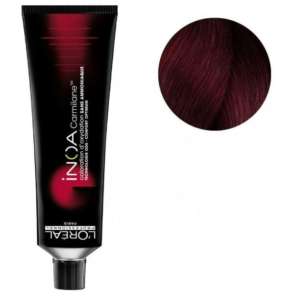 Colorear Inoa Carmilane n ° 6.64 cobre rojo rubio 60ML