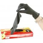 Blakitek latex gloves size S 6/7 x20