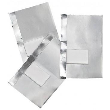 50 feuilles aluminium avec compresse intégrée 155484