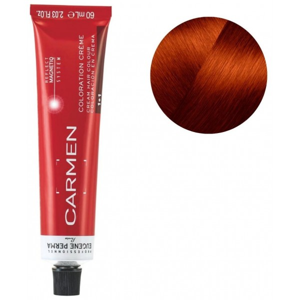 Tube Carmen 60 ML 7.46 copper red blonde