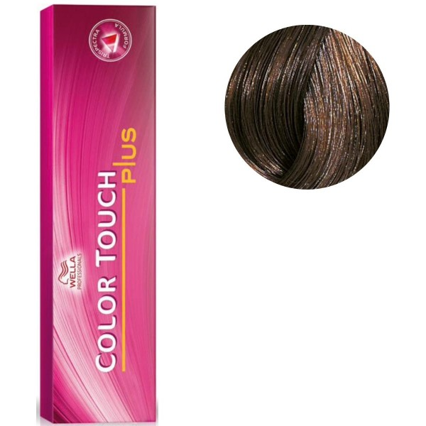 Color Touch 55/07 intenso marrón claro natural de Brown 60 ML