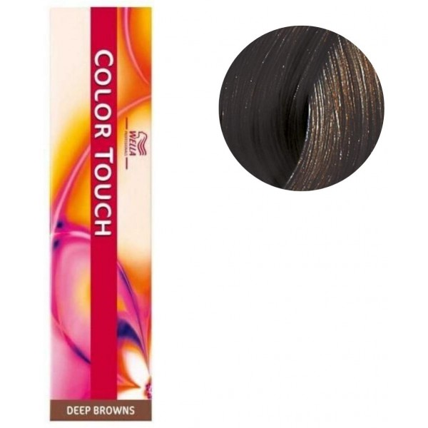 Coloration Color Touch Deep browns n°5/71 châtain clair marron froid Wella 60ML