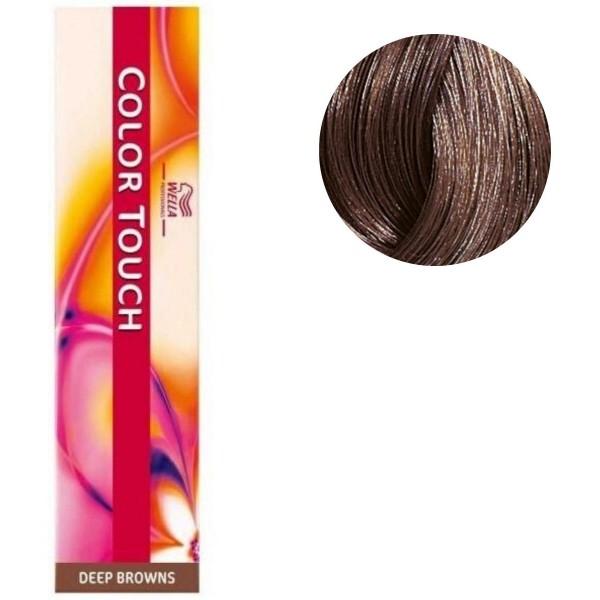 Coloration Color Touch Deep browns n°6/7 blond foncé marron Wella 60ML