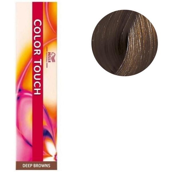 Coloration Color Touch Deep browns n°6/71 blond foncé marron froid Wella 60ML