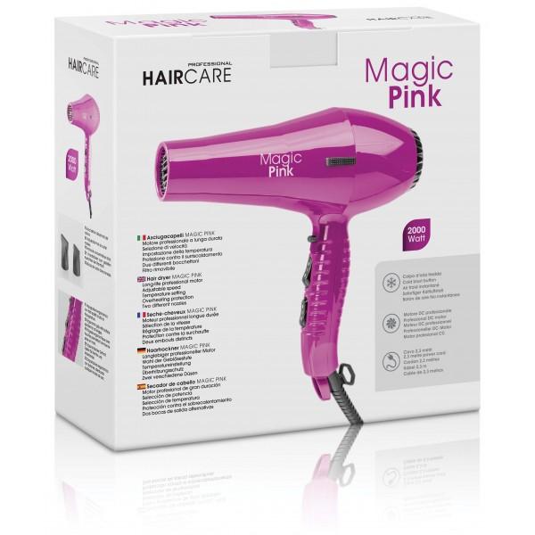 Sèche cheveux professionnel Magic rose