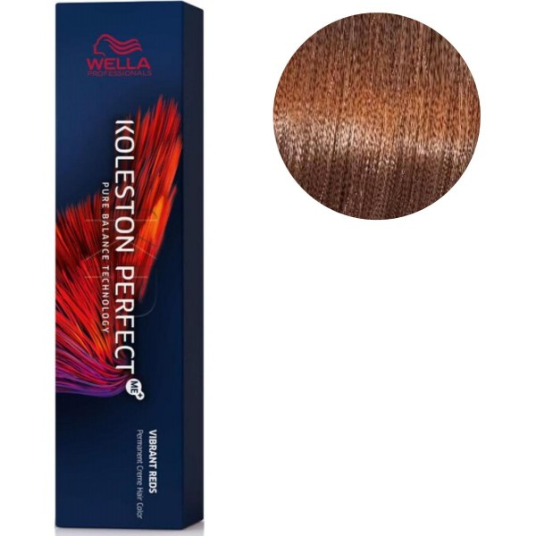 Koleston Perfect ME + Vibrant Red 7/34 Gold Blonde Copper 60 ML