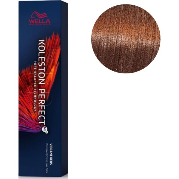 Koleston Perfect ME + Vibrating Red 7/43 Golden Copper Blonde 60 ML