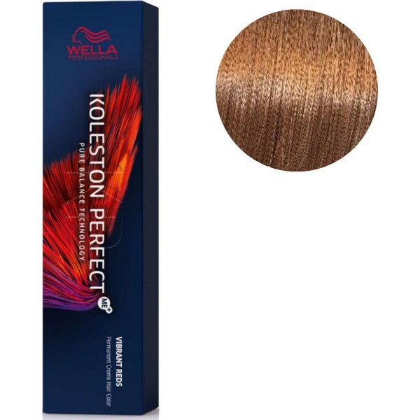 Koleston Perfect ME + Vibrant Red 8/43 light golden copper blonde 60 ML