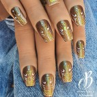 Collection Jewel Vernis Monolak doré Ambre Beauty Nails 8ML
