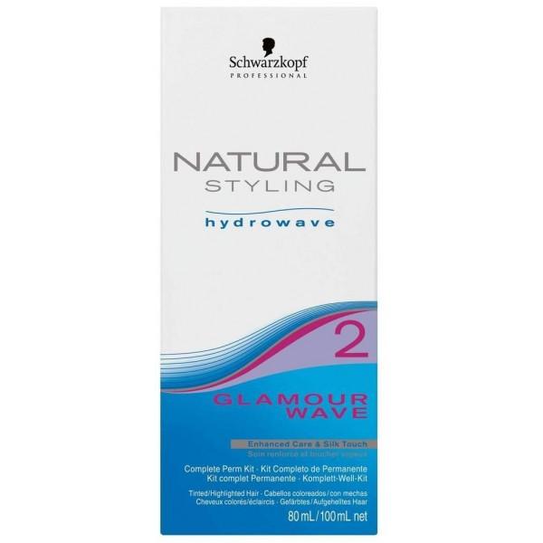 Kit permanente lotion + neutralisant Glamour Wave n°2 Schwarzkopf