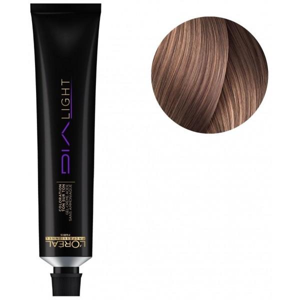 Dialight hair color n ° 8.21 biondo chiaro iridescente cenere 50ML