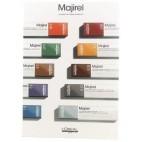 Majirel color chart