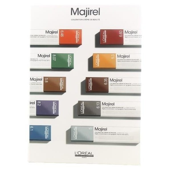 Carta De Colores Majirel