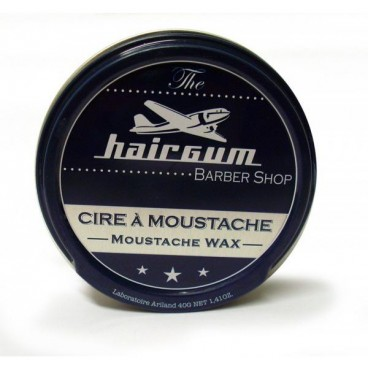 Cire à Moustache Barber shop hairgum 40 Grs