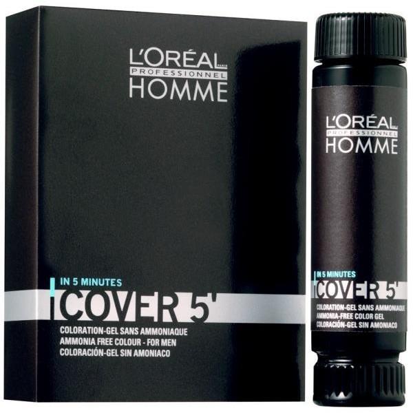 Cover 5' L'Oréal homme- Castagno 25 ml -