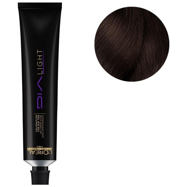 Licht Dia L'Oréal No. 4.35 Mahagoni Kastanie golden 50 ML